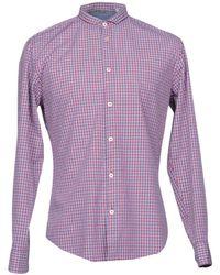 Grey Daniele Alessandrini   Shirt   Lyst