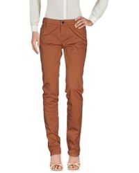Le Full - Casual Pants - Lyst