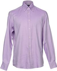 d898da39 Men's Ralph Lauren Purple Label Shirts - Lyst