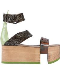 John Galliano - Sandals - Lyst
