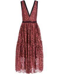 Sophia Kah - 3/4 Length Dress - Lyst
