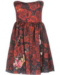Piccione.piccione - Short Dresses - Lyst