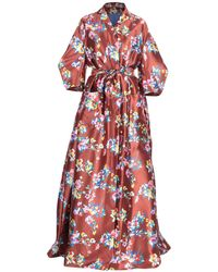 Delpozo - Long Dress - Lyst
