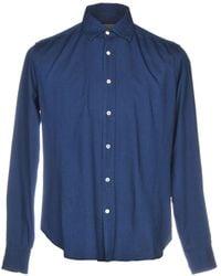 Cruciani - Denim Shirt - Lyst