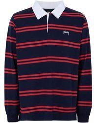 Stussy - Polo Shirt - Lyst