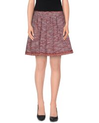 RED Valentino - Mini Skirts - Lyst