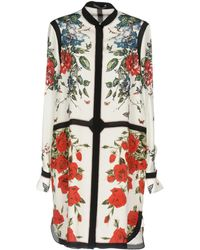 Alexander McQueen - Short Dress - Lyst
