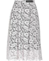Shirtaporter - 3/4 Length Skirt - Lyst