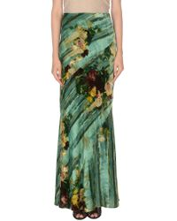 Alberta Ferretti - Long Skirt - Lyst