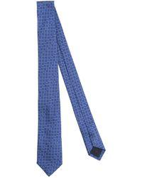 Versace Cravate - Bleu