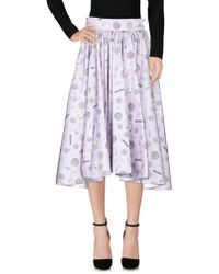 Olympia Le-Tan - 3/4 Length Skirt - Lyst
