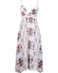 Anonyme Designers - 3/4 Length Dress - Lyst