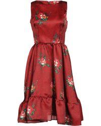 Leitmotiv - Knee-length Dress - Lyst