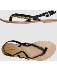 Met - Toe Strap Sandal - Lyst