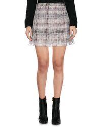 Theyskens' Theory - Mini Skirt - Lyst