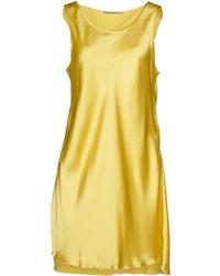 Ermanno Scervino - Short Dresses - Lyst