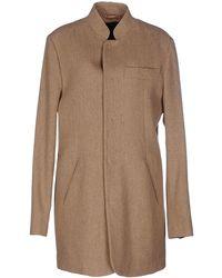 Denham - Overcoat - Lyst