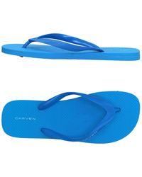 Carven - Toe Strap Sandal - Lyst