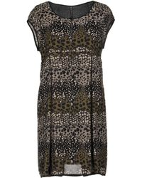 Manila Grace - Short Dress - Lyst