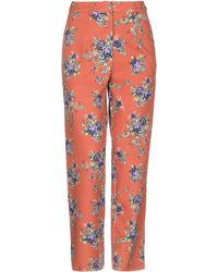Silvian Heach Casual Trousers - Brown