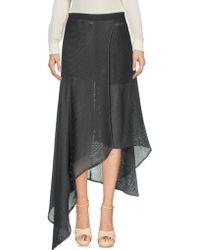 Amanda Wakeley | 3/4 Length Skirt | Lyst