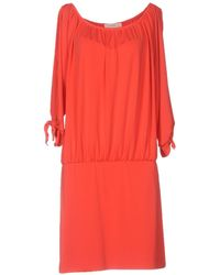 Nicole Miller Artelier - Short Dress - Lyst