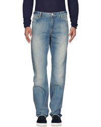 Frankie Morello - Denim Trousers - Lyst