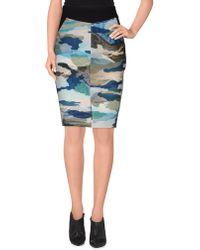 Cameo - Knee Length Skirt - Lyst