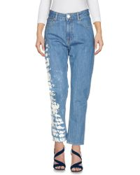 Faustine Steinmetz - Denim Trousers - Lyst