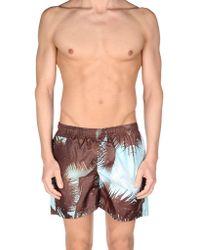 Fifteen & Half - Swimming Trunks - Lyst