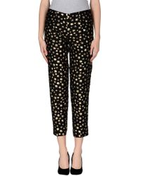 Boutique Moschino - Printed Trousers - Lyst