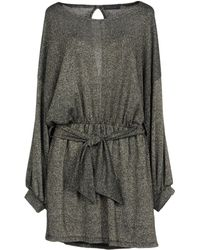 Please - Short Dress - Lyst