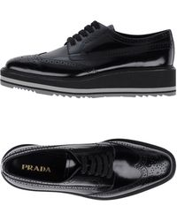 Prada - Lace-up Shoes - Lyst