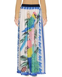 Replay - Long Skirt - Lyst