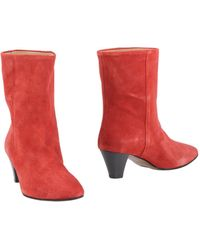 be2c0a818d43 Lyst - Marc Ellis Ankle Boots in Metallic