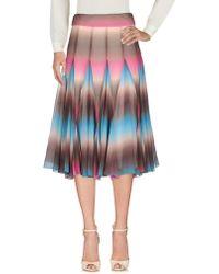 Matthew Williamson - 3/4 Length Skirt - Lyst