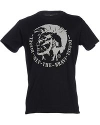 6a287eac Diesel T-Shirts - Men's Diesel Tees & Polo Shirts - Lyst