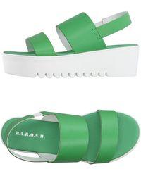 P.A.R.O.S.H. - Sandals - Lyst