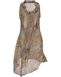 I Malloni - Short Dress - Lyst