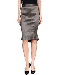 Zac Zac Posen - Knee Length Skirt - Lyst