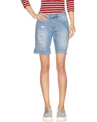 Relish - Denim Bermudas - Lyst