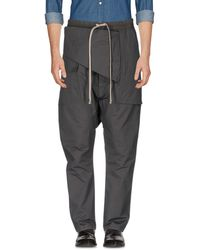 DRKSHDW by Rick Owens - Casual Trouser - Lyst