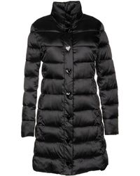 38431ad0c7b7d YOOX. Love Moschino - Synthetic Down Jacket - Lyst