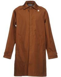 K-Way - Overcoat - Lyst
