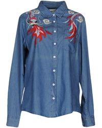 The Seafarer - Denim Shirt - Lyst