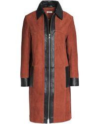 Ganni - Overcoat - Lyst