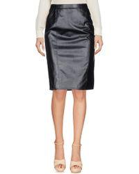 Armani Jeans - Knee Length Skirts - Lyst