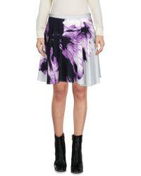 Blue Les Copains   Mini Skirt   Lyst
