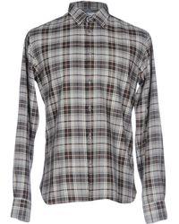 Aglini - Shirts - Lyst