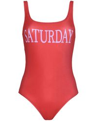 Alberta Ferretti - One-piece Swimsuit - Lyst